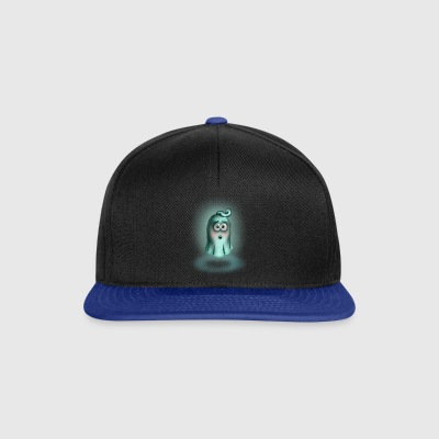 Little Turquoise Ghost - Snapback Cap