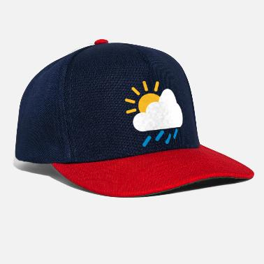 Weather Weather cloud icon - Snapback Cap