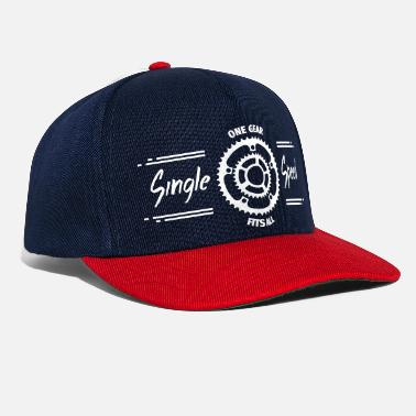 Single Speed Single Speed Fahrrad - Snapback Cap