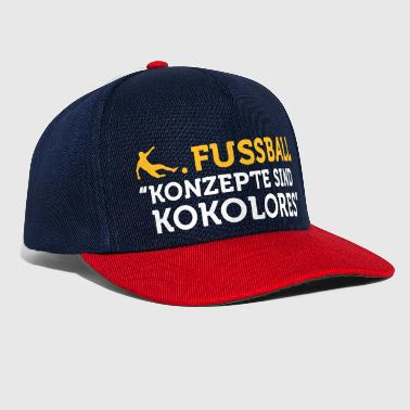 Football Quotes: Concepts Are Tosh! - Snapback Cap