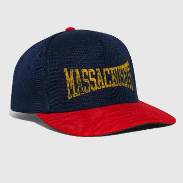 Massachusetts Vintage Retro - Snapback Cap