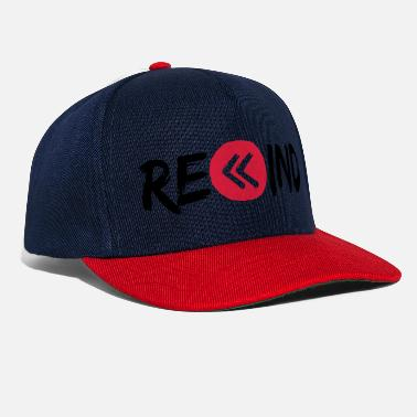 Key Button rewind circle music button ring button play p - Snapback Cap