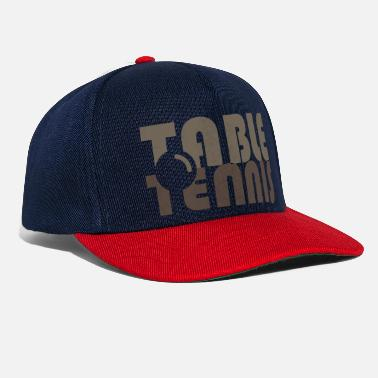 table tennis club player gift - Snapback Cap