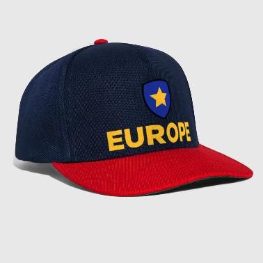 The Union Flag Of Europe - Snapback Cap