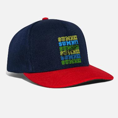 Summer - dark - Snapback Cap