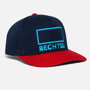 Rectangle rectangle - Snapback Cap