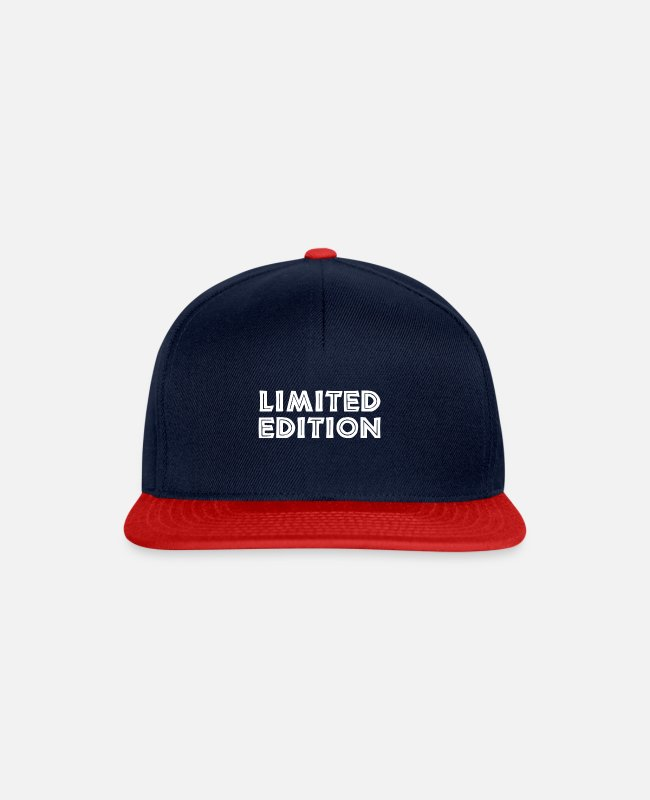 Limited Edition Caps & Hats - limited edition - Snapback Cap navy/red