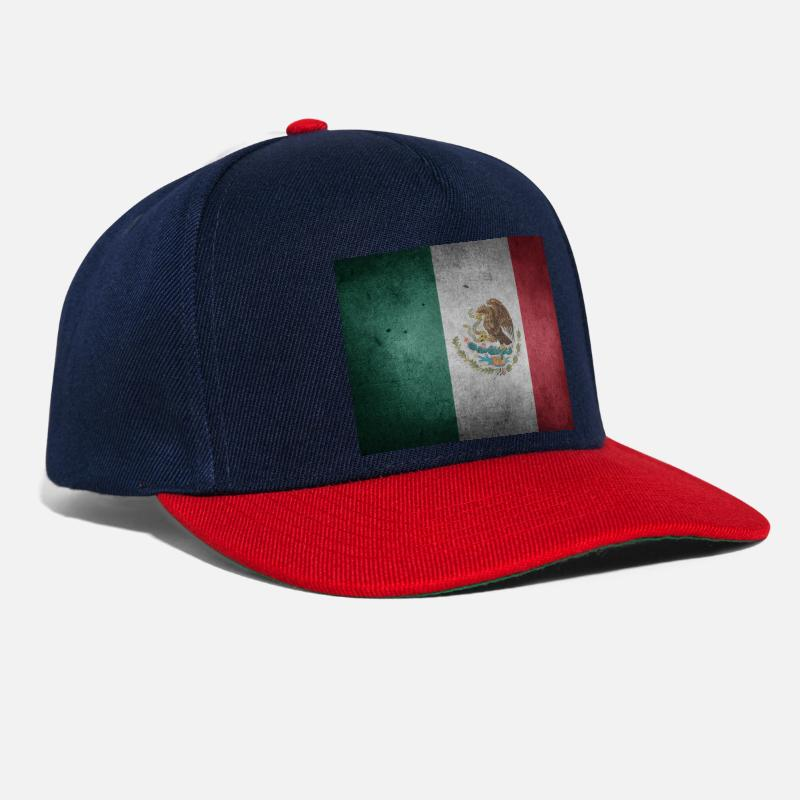 Mexico Flagge Snapback Cap Spreadshirt