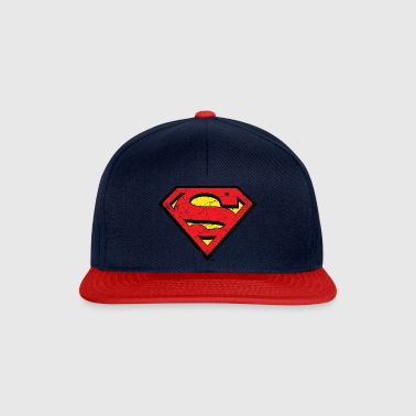 DC Comics Superman Logo Used Look - Snapback Cap