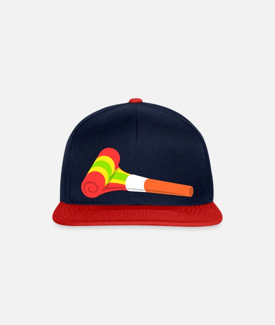 Carneval Caps & Hats - Carnival red - Snapback Cap navy/red