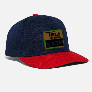 Name Hello my name is - Snapback Cap