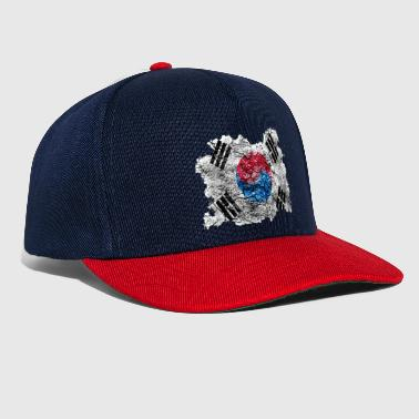 South Korea Korea (South) Vintage Vlag - Snapback cap