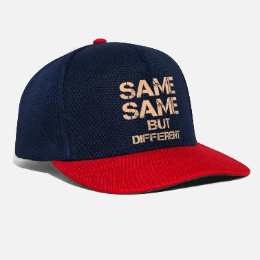 E Same Same Same But Different Thailandia-Zit - Snapback Cap