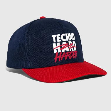Techno harder - Snapback Cap