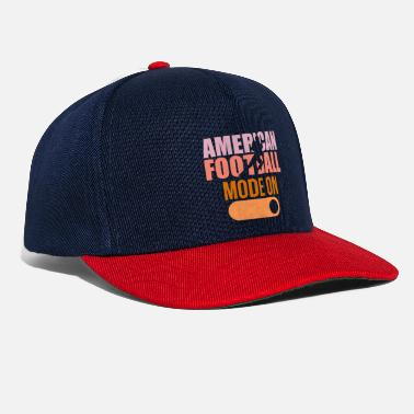 Touch Down American football on touch down tackle - Snapback Cap