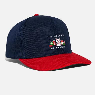 Christmas present - i'm here for the presents - Snapback Cap