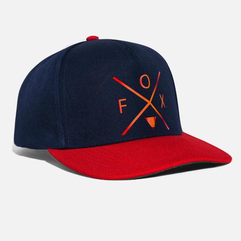 For Her Caps & Hats - fox - Snapback Cap navy/red