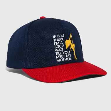 Tramp Do You Think I'm A Bitch?Wait Till You Meet My Mom - Snapback Cap