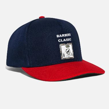 Advertising Barber's Classic Hairstyle Gifts, Shield - Snapback Cap