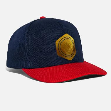 Galaxy HEXAGONS ZESTIEN GOUD 20 - Snapback cap