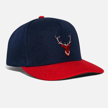 Hipster Cerf Hipster rouge - Casquette snapback