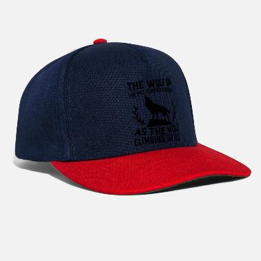 Half Moon The wolf on the hill - Snapback Cap