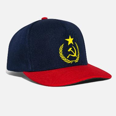Communist Flag Communists and Symbols - Snapback Cap