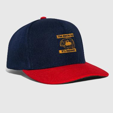 doctor doc says incurable diagnosis bulldozer bau - Casquette snapback