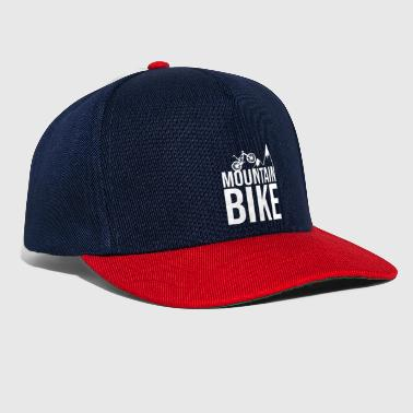Mountain Bike Mountain bike mountains - Snapback Cap