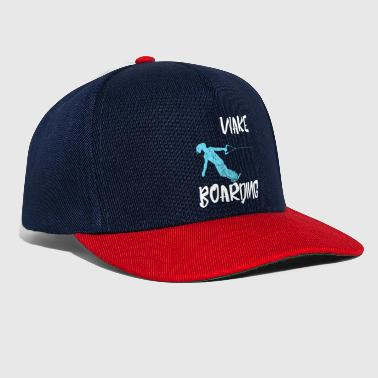 Wake Boarding Sports aquatiques Vintage Gift - Casquette snapback
