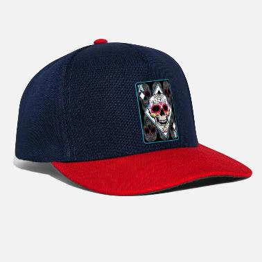 Day Tee-shirt Ace Card Crâne de sucre Day Of The Dead Pun - Casquette snapback
