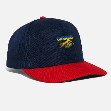 Roots Ukraine nation Crimea Ukrainians gift - Snapback Cap