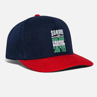 Nose Seaman freakin 'awesome used look - Snapback Cap