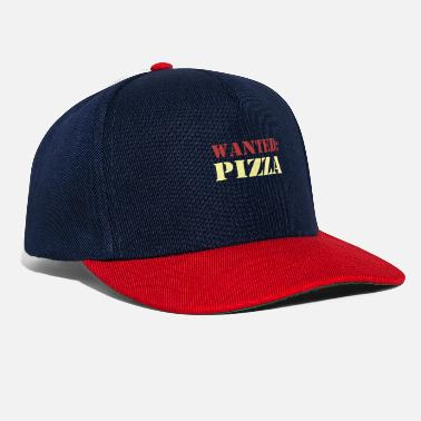 Gag Wanted Pizza - Snapback Cap