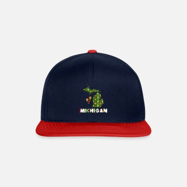 Donkey Cinco De Mayo Michigan - Snapback Cap