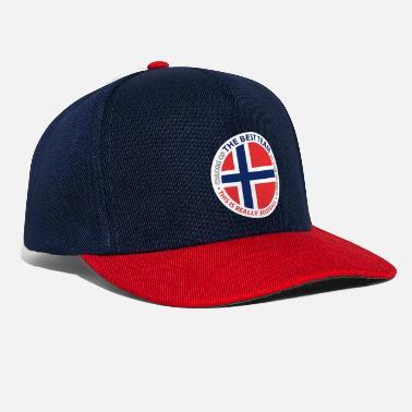Mejor Fútbol Mejor equipo de fútbol de Noruega - Gorra snapback 2c2d97098c1