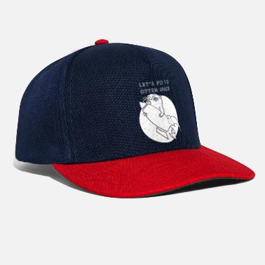 Otter LET´S FLY TO OTTER SPACE - WEISSE RAKETE - Snapback Cap