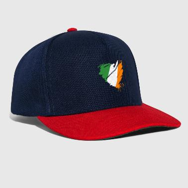 low priced ff74f dfcba ... norway green island heart heart ireland Éire ireland green island  dublin snapback cap 82f5a 857e2