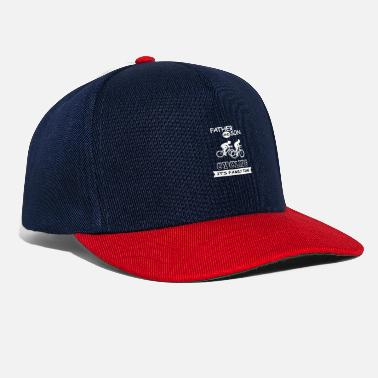 Father Father And Son - Cycling - Snapback Cap