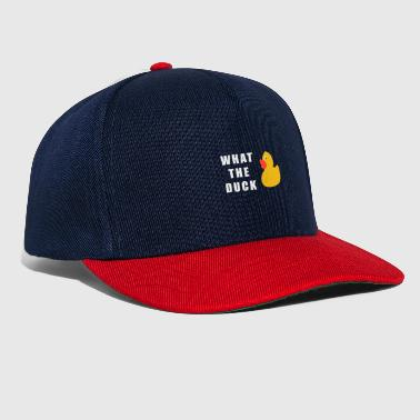 Rubber Duck what the duck - Snapback Cap