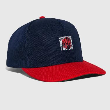 When the DM smiles - Snapback Cap