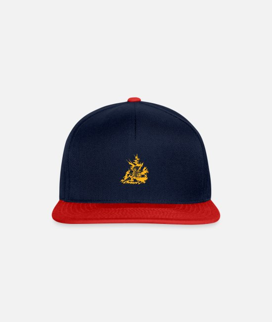 Boss Monster Caps & Hats - Nameless King variant - Snapback Cap navy/red