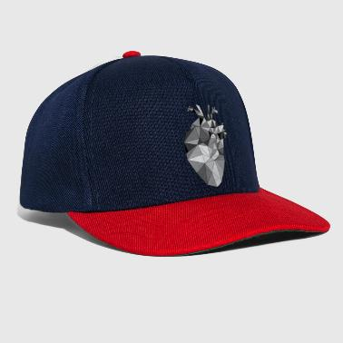 Graphic Heart - Snapback Cap