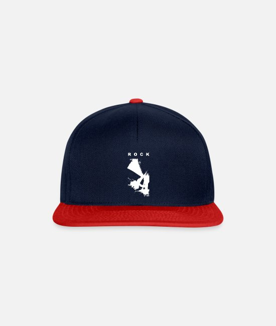 Skirt Caps & Hats - SKIRT - Snapback Cap navy/red