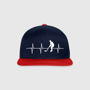 My heart beats for ICE HOCKEY - Gift - Snapback Cap