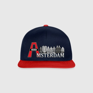 Amsterdam with a large A - Snapback Cap