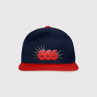 number of the beast - Snapback Cap