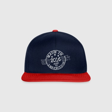 MADE IN 2016 aged to perfection - Czapka typu snapback