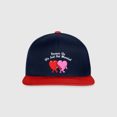 Just Married ons te verontschuldigen - Snapback cap