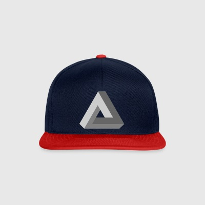 3D Impossible Triangle - Snapback Cap
